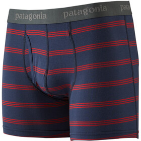 Patagonia Essential Boxershorts Heren, pier stripe/new navy